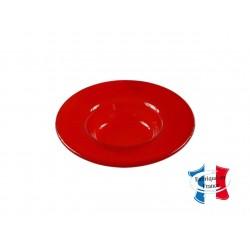 Assiette ronde, Grand bassin, Transparente